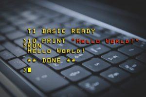 hello world, computer, programmer