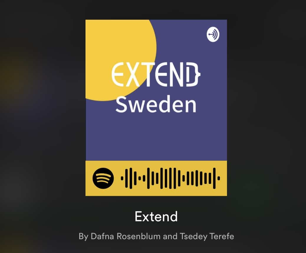 ExtendSweden podcast interview with Jonah Andersson Software Developer